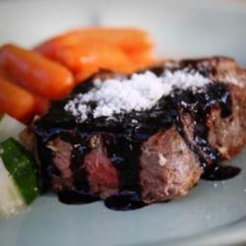 Filet Mignon with Rich Balsamic Glaze - Click image to find more Food ...