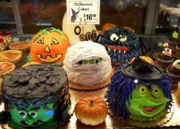 Cute halloween cakes halloween pinterest Cute easy halloween cakes