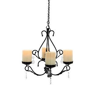 Indoor Outdoor 3-in-1 Sconces w/ 4 Flameless Candles by  | Home Id…