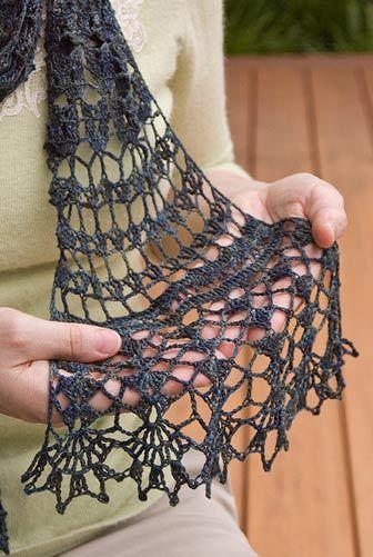 Crochet Patterns Neck Scarves : Loveland Neck Scarf Crochet Pattern Crochet Shrugs, Scarves, Poncho ...