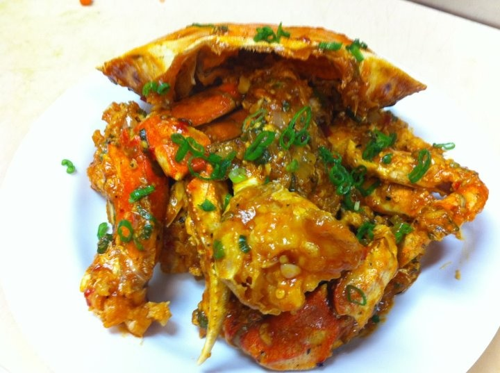 Singaporean Chili Crab. If you've never tried it, you've never lived ...