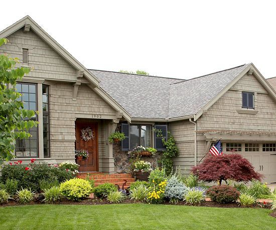 landscape for curb appeal