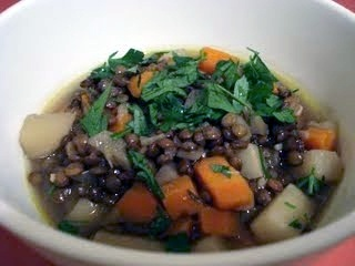Lentil Soup with Root Vegetables For Two | Tasty Kitchen: A Happy ...