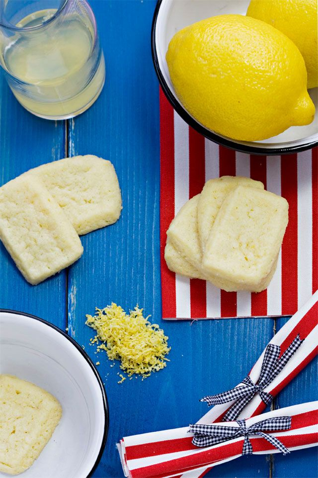 Lemon Shortbread Cookies | Cookie Monster | Pinterest