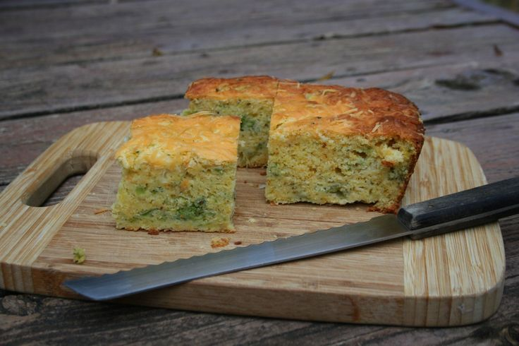 Broccoli Cheddar Cornbread | Bread & Butter | Pinterest