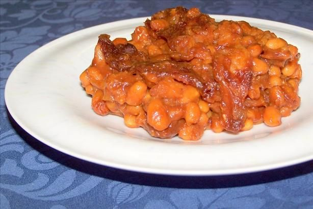 Maple Baked Beans   Recipe