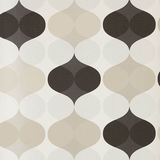 Mod retro packaging patterns posters and fonts for Contemporary designer wallpaper