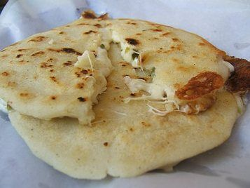 Comfort food... Pupusas con curtido =-9 | Foodies! | Pinterest