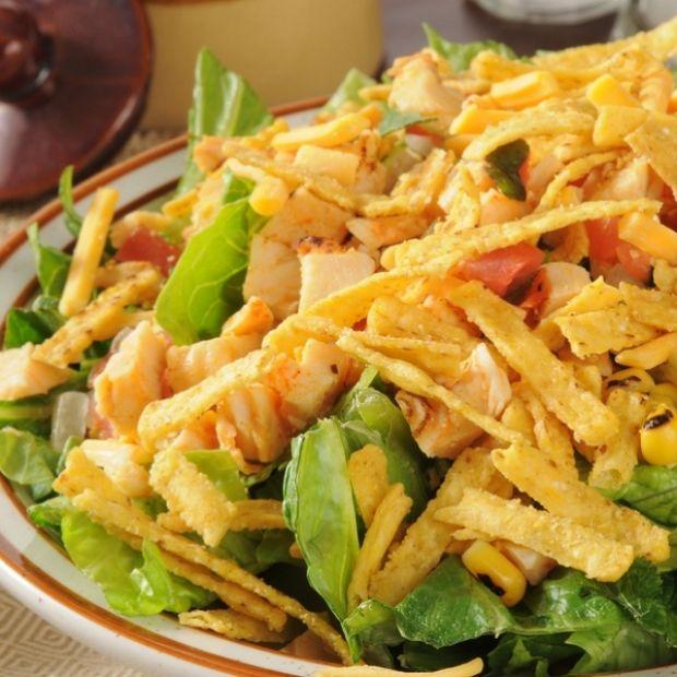 Corn Chip Chicken Salad Recipe from The Thai Kitchen