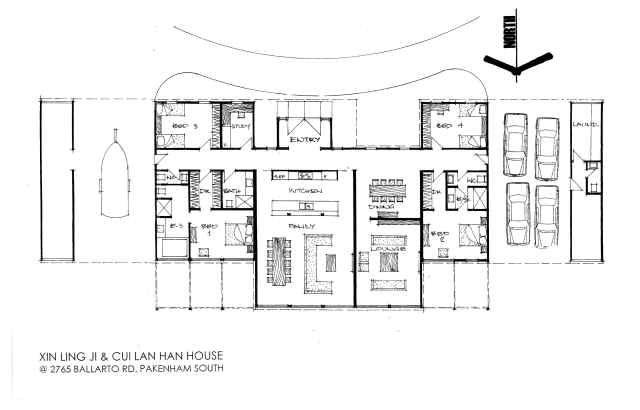 Ji house 640 410 architecture pinterest - Container home blueprints ...