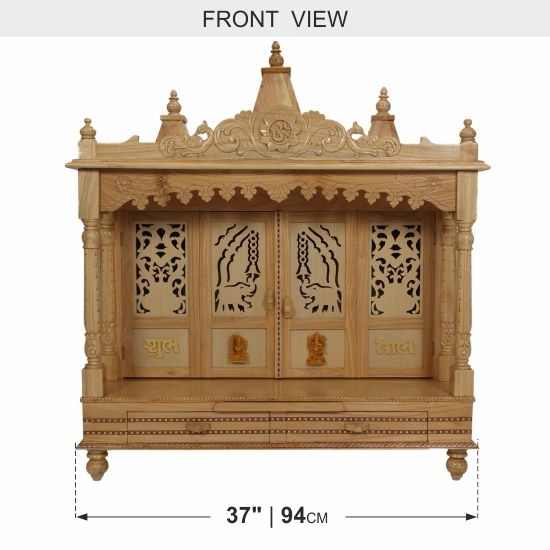 Wooden Pooja Mandir Designs Joy Studio Design Gallery Best Design
