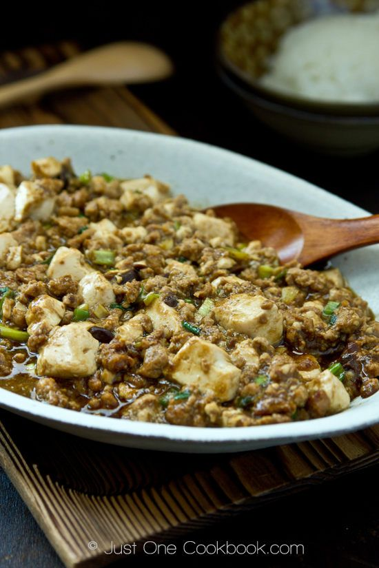 Mabo Dofu, easy, quick, delicious recipe if you can find all the ...