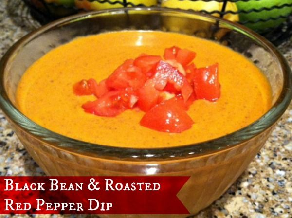 Black Bean and Roasted Red Pepper Dip #Recipe #HormelFamily - Oh So ...