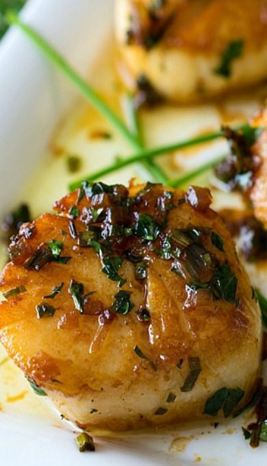 Perfect Pan Seared Scallops (with a Simple Pan Sauce) | Recipe