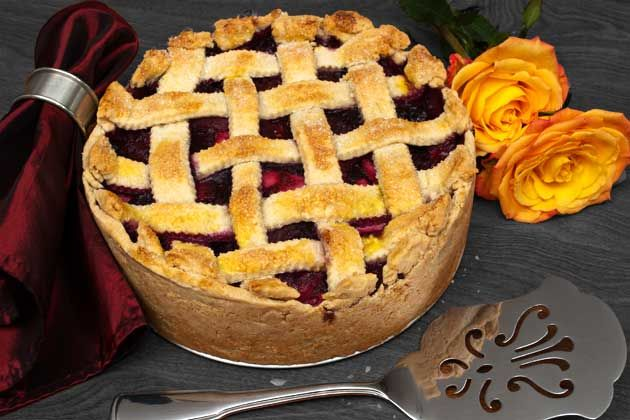 ... , really good.) Apple, Ginger and Blueberry Shortcrust Pie   BlogHer