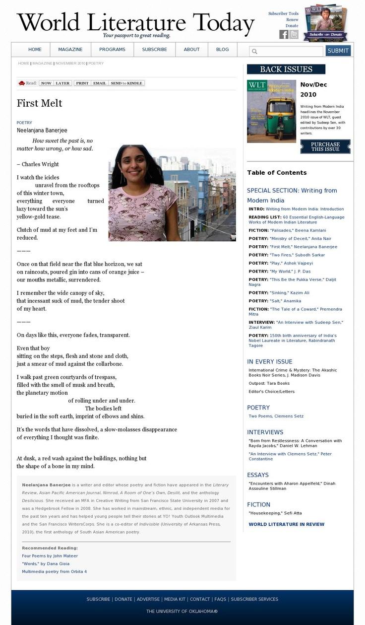 english world literature essay