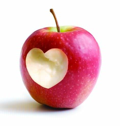 "Pink lady apple lover | I ""Heart"" You 