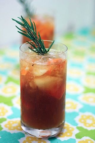 Rosemary-Tangerine Rum Cooler | Thirst Quenchers | Pinterest