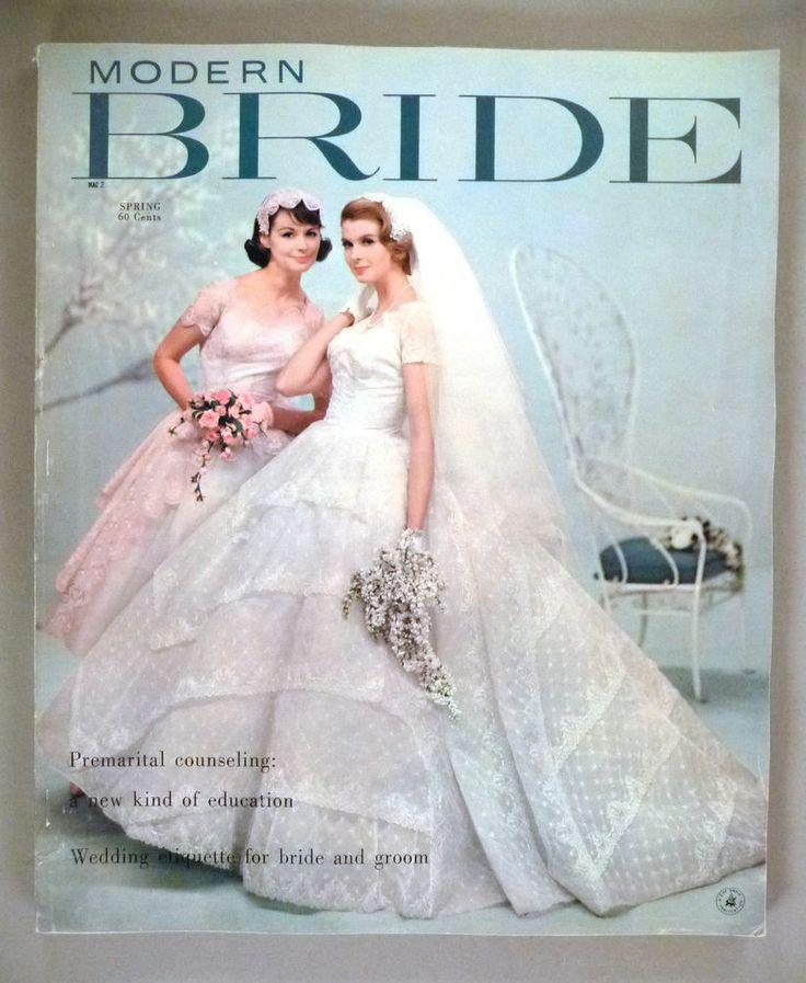 Modern bride magazine spring 1959