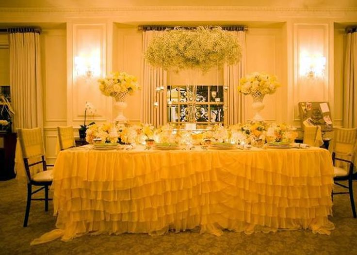 Pin By Patricia Quintana On Yellow Inspired Wedding Ideas