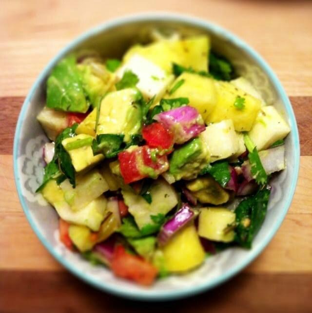 Tropical salad | salad recipes | Pinterest