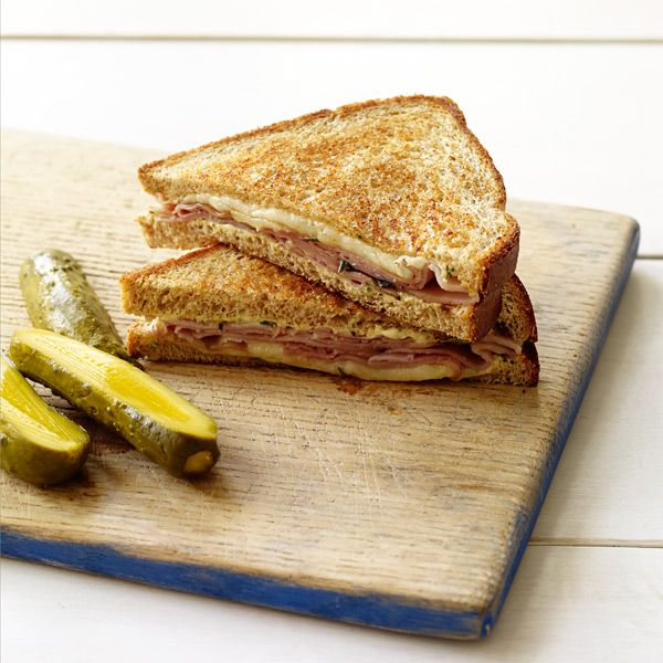 Grilled Ham and Cheese with Rosemary-Dijon Spread