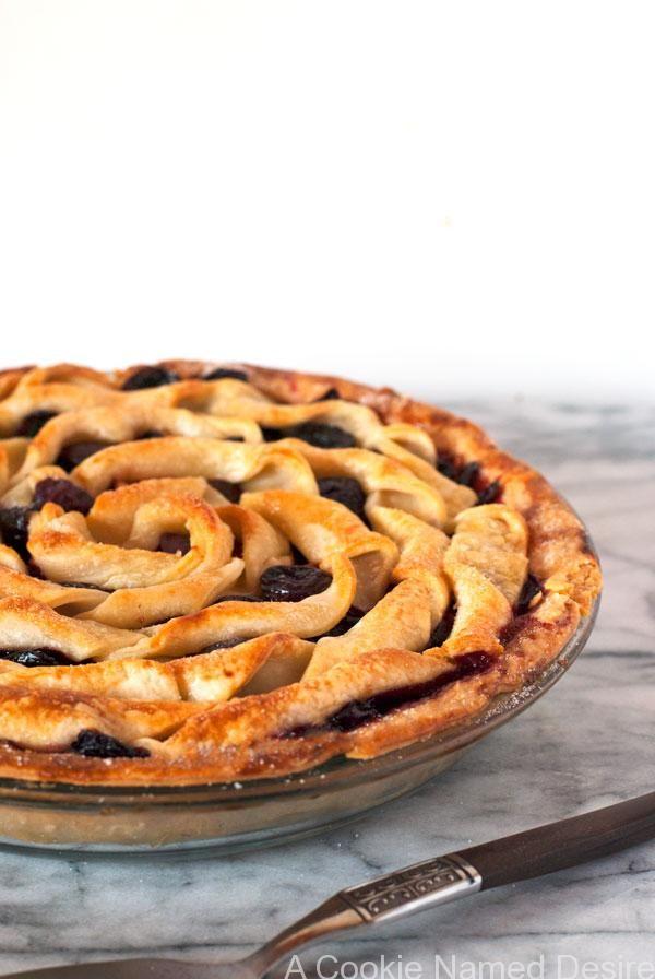 Cherry Apple Bourbon Pie | Recipe
