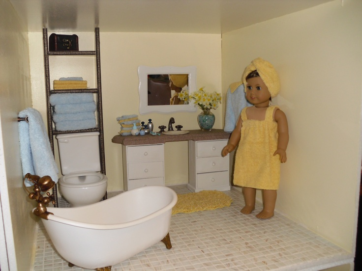 Doll House Bathroom View 1 AGs Pinterest