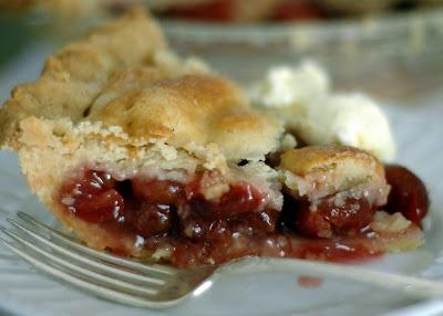 Fresh Cherry Pie | Baking - pies and crumbles | Pinterest