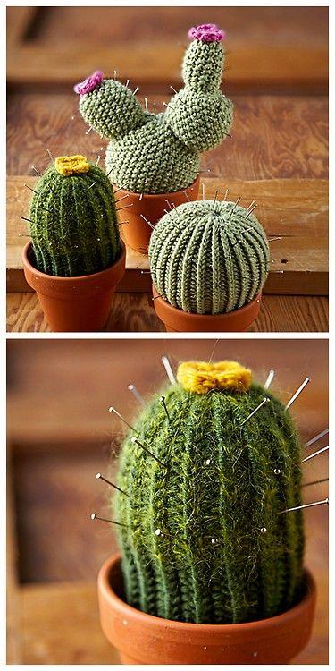 Crochet Cactus Pincushion Free Pattern : Pin by MaryAnne Farley on Yarn Pinterest
