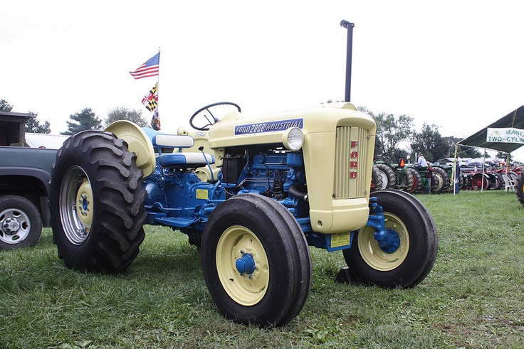 1963 Ford Tractor Model 2000 : Ford industrial antique work horses pinterest