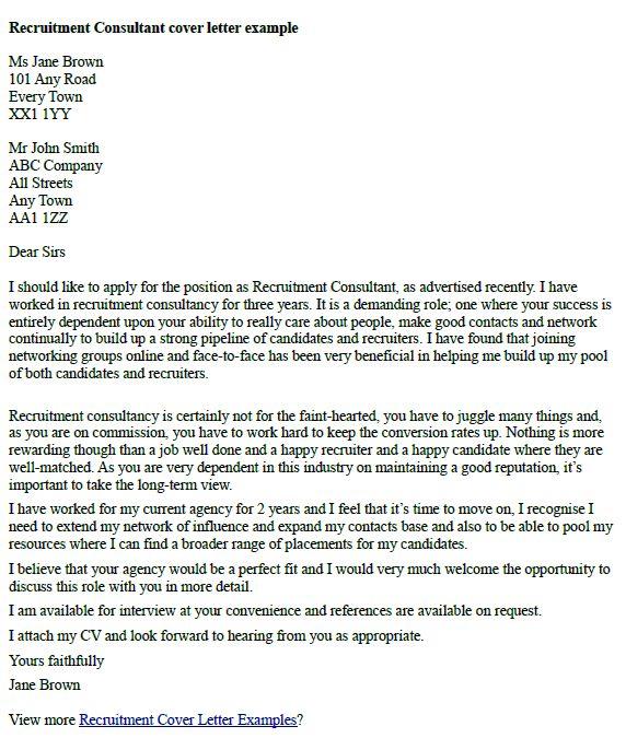 Business Development Consultant Cover Letter. Employment ...