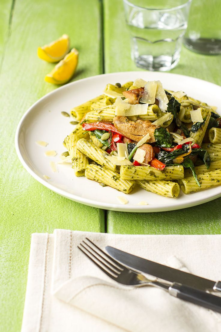Spring Herb, Chicken and Vegetable Pasta | New Zealand Classic Recipe ...