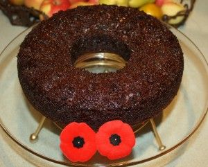 War Cake - molasses boiled raisin cake. Not sure if this counts as ...