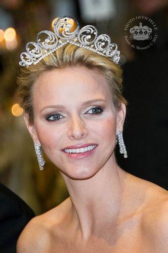 Princess Charlene Ocean Tiara Monaco