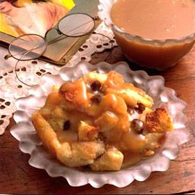 Old-Fashioned Bread Pudding With Vanilla Sauce | Recipe