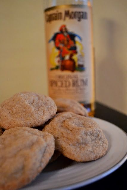 Spiced Rum Brown Butter Cookies | favorites! | Pinterest