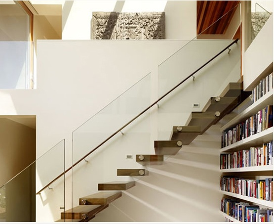Best Floating Staircase With Glass Railing Stairs Pinterest 400 x 300