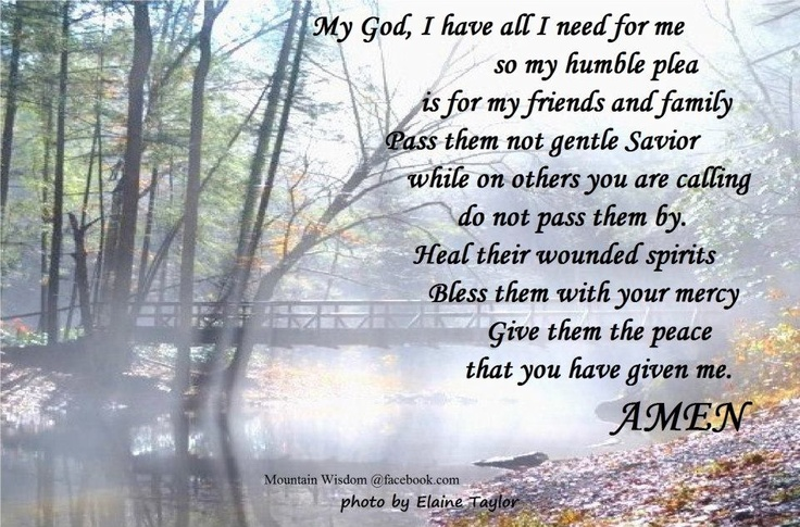 Prayer for friends and family quotes and stuff Pinterest