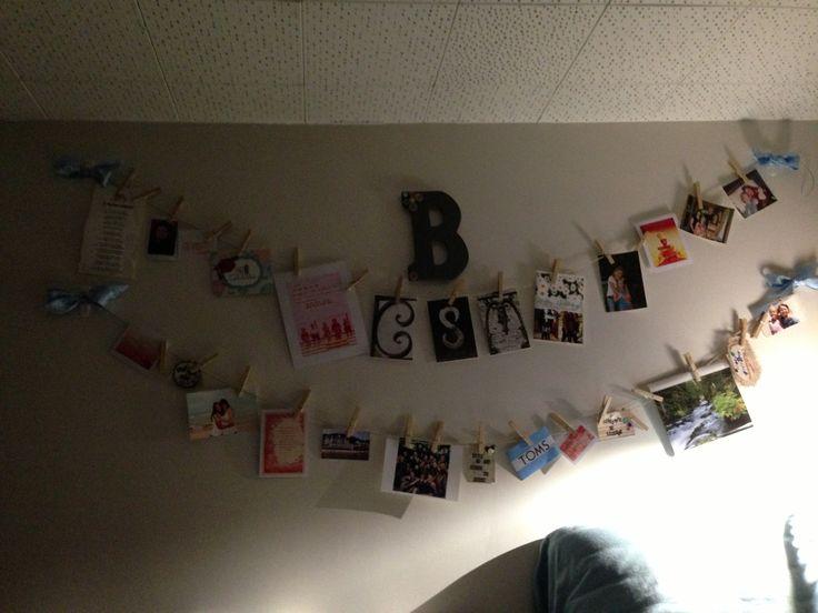 hanging pictures for dorm rooms dorm ideas pinterest