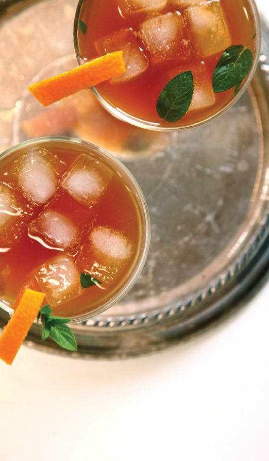 Sweet Tea Bourbon #Cocktail #Recipe {& My Open Letter to the ...