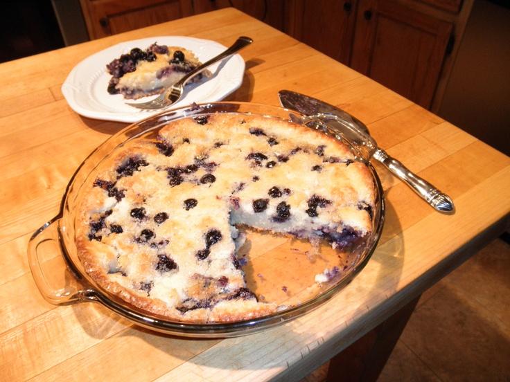 Fresh Blueberry Coffee Cake Recipe — Dishmaps