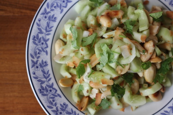 Cucumber Peanut Salad | Recipe