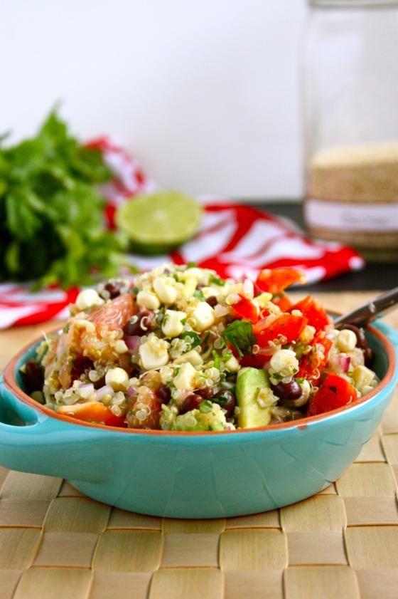 summer quinoa salad | Recipes | Pinterest