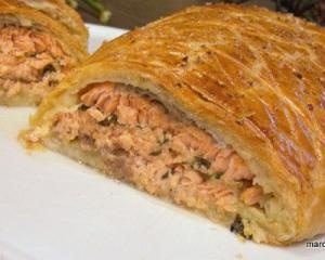 Salmon en croute | DIY | Pinterest