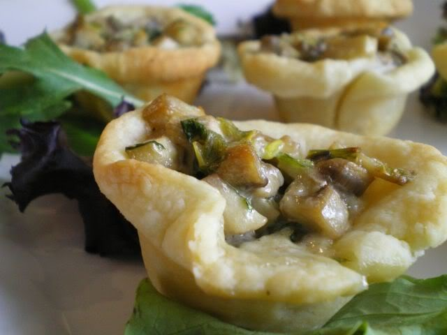Mushroom Tart Recipes — Dishmaps