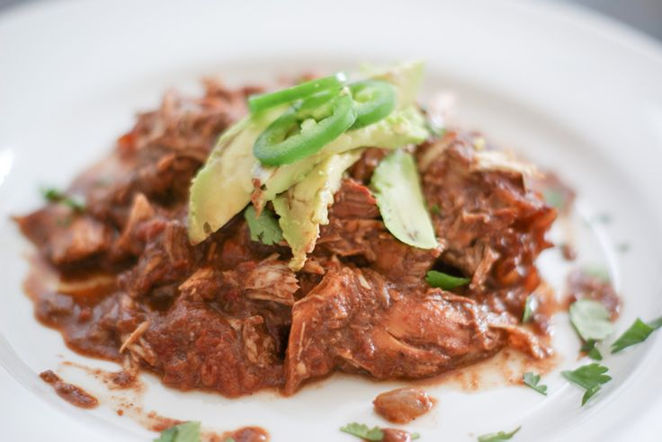 slow cooker chicken mole | Paleo Meat (Poultry) | Pinterest