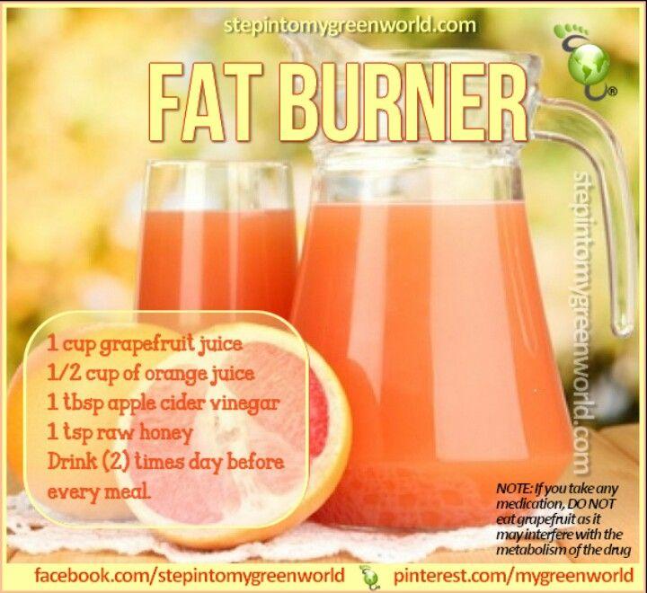 Natural fat burner | Natural remedies | Pinterest