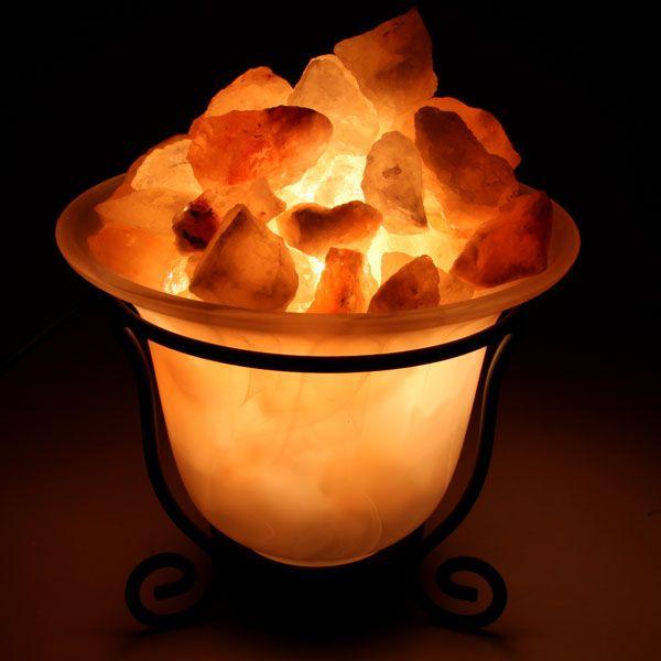 Himalayan Pink Salt Lamp Green Earth : Himalayan Salt Lamp