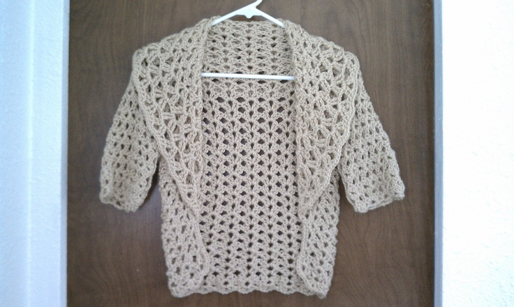 Crochet X Stitch Shrug : Stitch Shrug